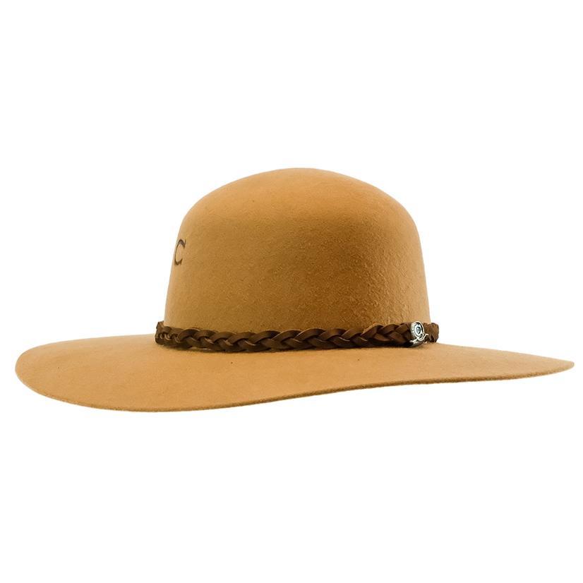 Charlie 1 Horse Wanderlust Jr Camel Felt Hat