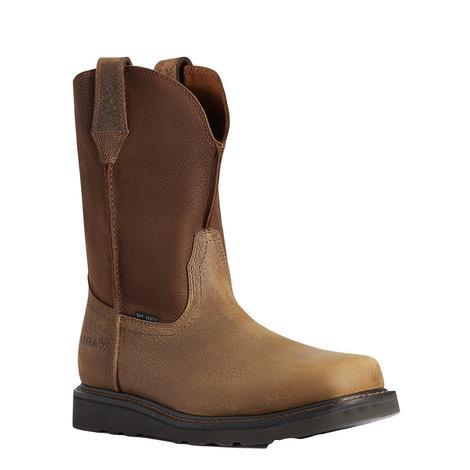 Ariat Rambler Brown Work Wedge Men's Boots