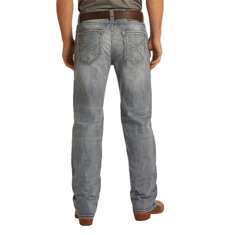 Rock and Roll Cowboy Double Barrel Straight Leg Vintage Men's Jeans