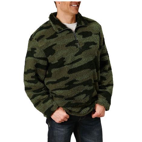 Roper Camo Polar Fleece Men's Pullover