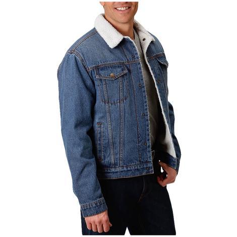 Roper Sherpa Lined Denim Men's Jacket