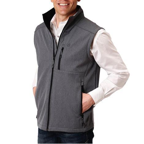 Roper Grey Tech Softshell Men's Vest