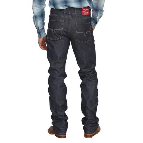 Kimes Ranch Raw James Low Rise Straight Leg Indigo Men's Jeans