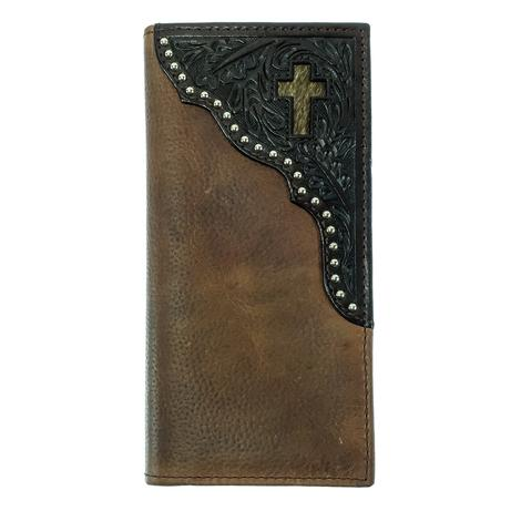 Rodeo Tan and Tool Cross Wallet
