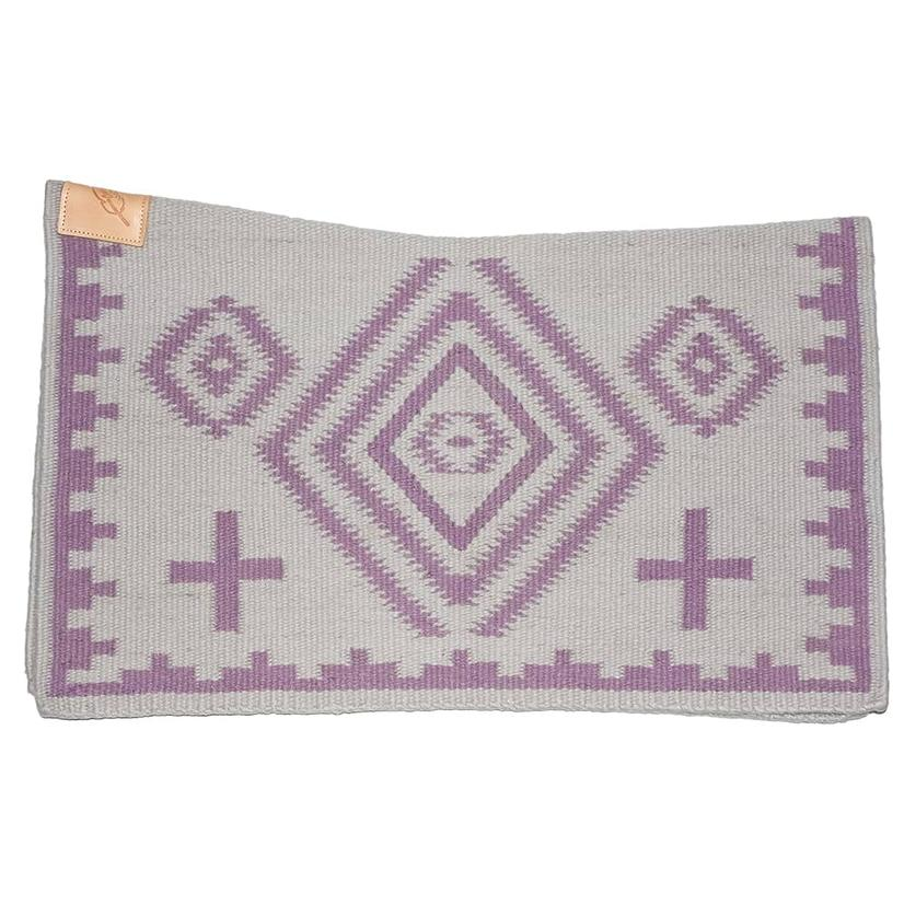 Cuttinup Show Blankets - The Nancy Contoured Show Blanket 34x40 GREY/LILAC