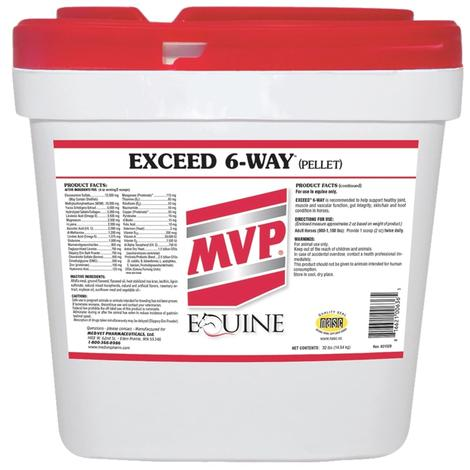 MVP Exceed 6-Way 32lb Pellets