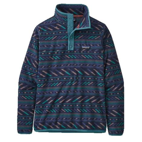 Patagonia Micro D Snap-T Bergy Bits New Navy Women's Pullover