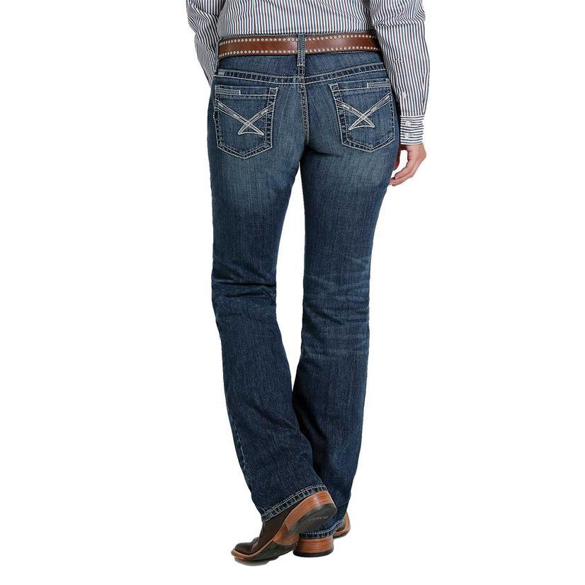 Cinch Ada Relaxed Boot Cut Medium Wash Women's Jeans