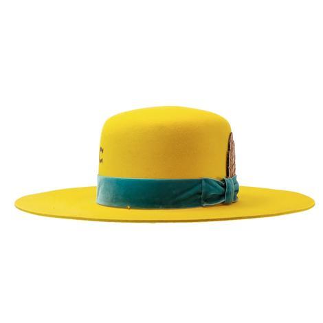 Charlie 1 Horse Yellow Nomad Felt Hat