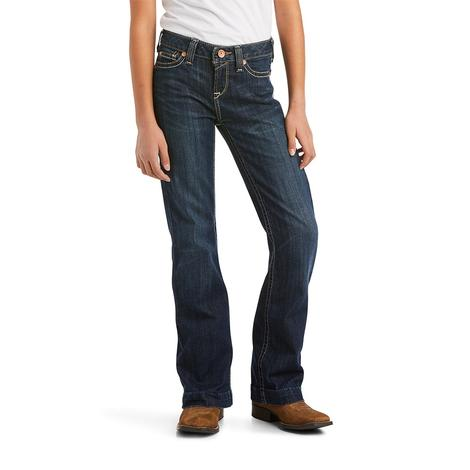 Ariat R.E.A.L. Kimberly Trouser Girl's Jeans