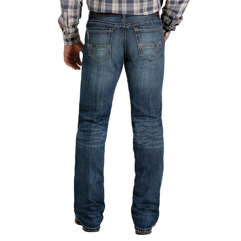 Cinch Ian Slim Bootcut Dark Wash Men's Jeans