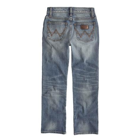 Wrangler Retro Holstein Slim Fit Straight Leg Boy's Jeans - Size 4-7