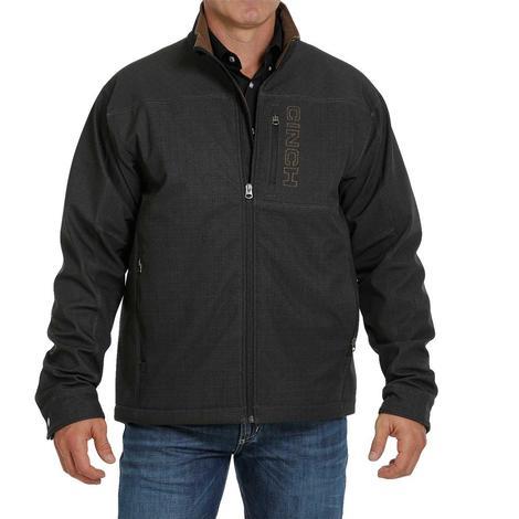 Cinch Black Printed Concealed Carry Bonded Men's Jacket - Extended Sizes