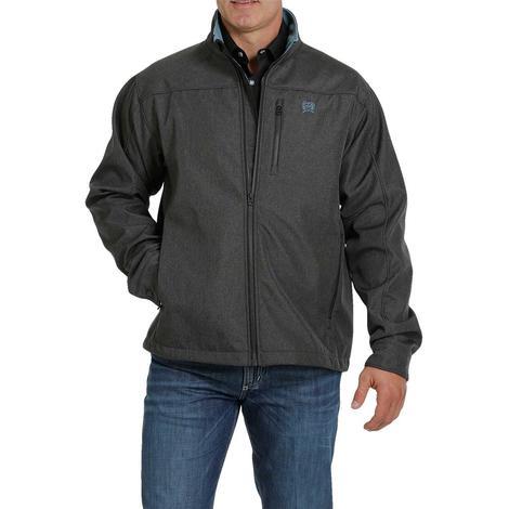 Cinch Charcoal Blue Textured Bonded Men's Jacket