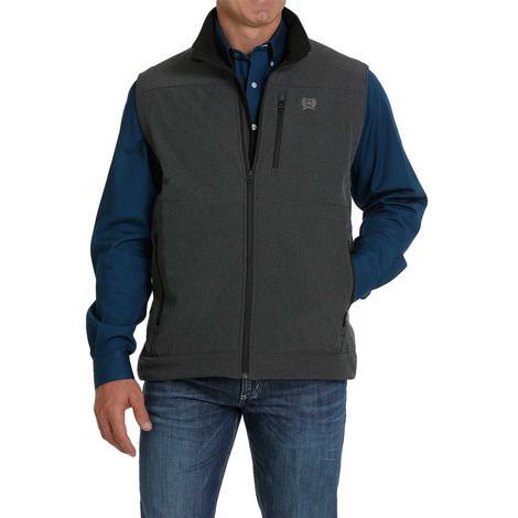Cinch Black Conceal Carry Men's Bonded Vest