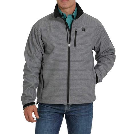Cinch Grey Textured Men's Bonded Jacket