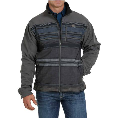 Cinch Charcoal Colorblock Bonded Men's Jacket