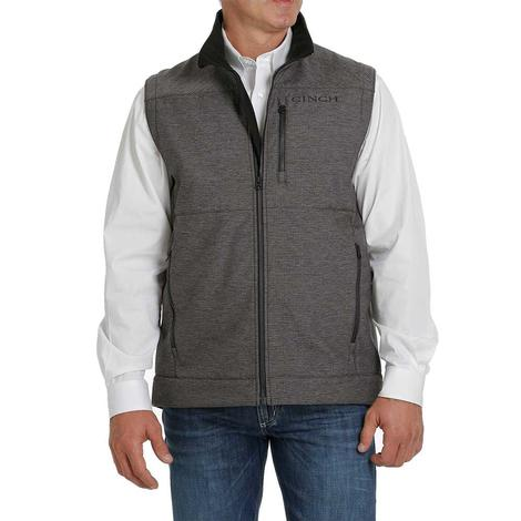 Cinch Charcoal Textured Bonded Men's Vest