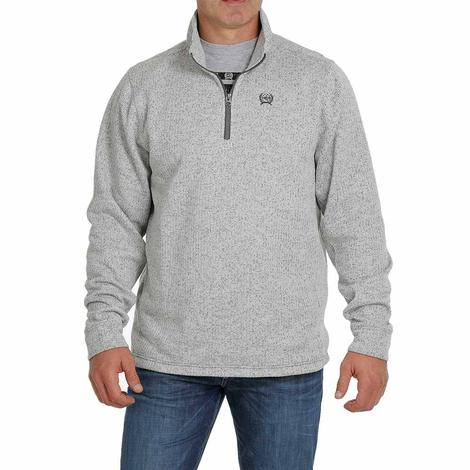 Cinch Grey Sweater Knit Men's Pullover