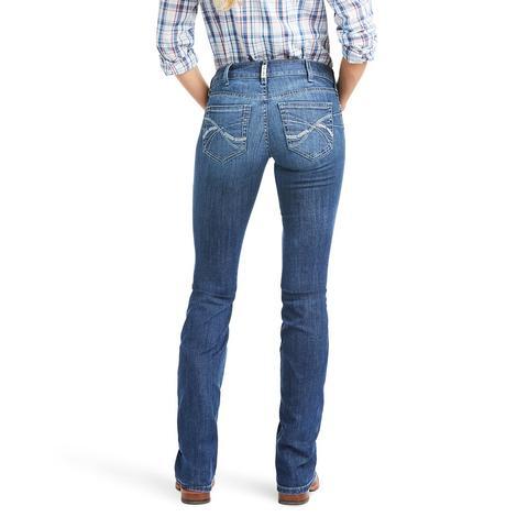 Ariat R.E.A.L. Mid Rise Bootcut Women's Jeans