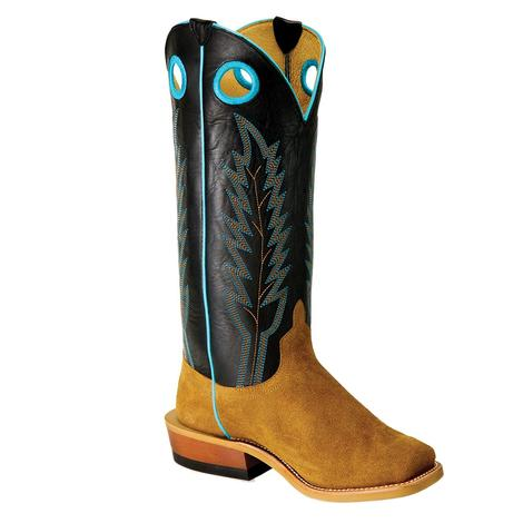 Horse Power Sawdust Roughout Tall Top Boy's Boots