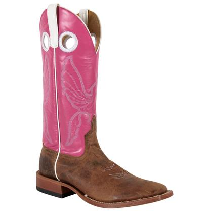 Horse Power Men's Pink Top Boot