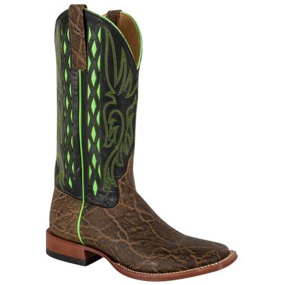 Horse Power Men's Elephant Print Cowboy Boot