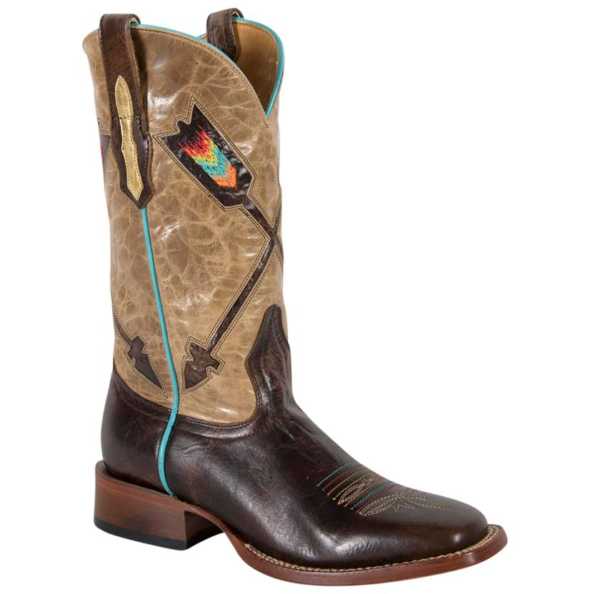 Women's Volcano Arrow Cowgirl Boots