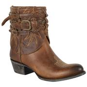 Lane Cowgirl Dove Shorty Tan Boots