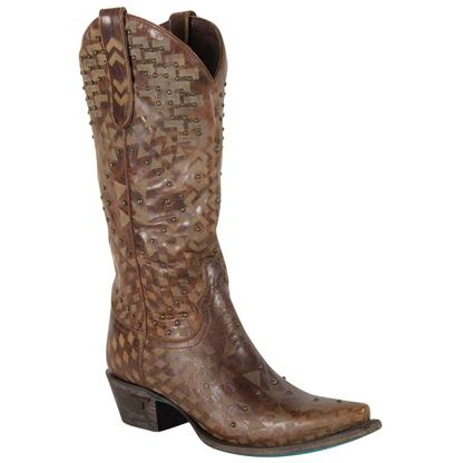 Lane Sandy Western Cowgirl Boots