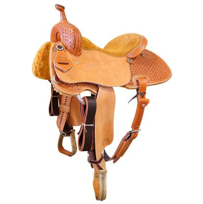 STT Barrel Saddle Snowflake Tooled