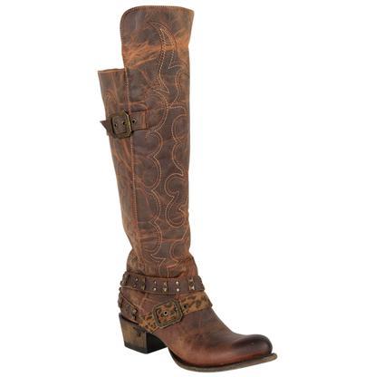 Lane Womens Julie Honey Boots