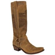 Junk Gypsy She Who Is Brave Honey Brown Ladies Boot