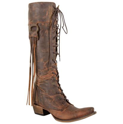 Junk Gypsy Trialblazer Oiled Brick Brown Ladies Boot