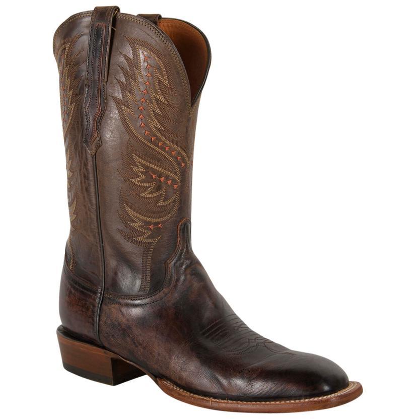 Lucchese Antique Peanut Brittle Goat Men's Boots