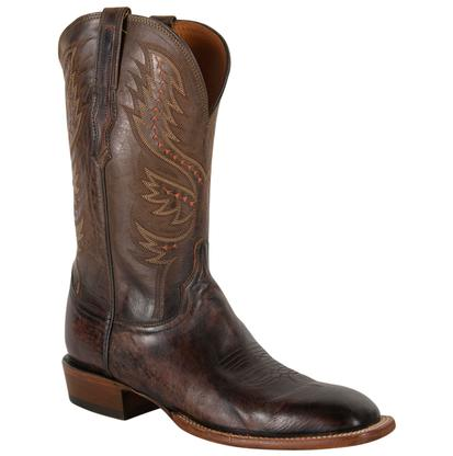 Lucchese Mens Antique Peanut Brittle Goat Boots