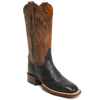 Lucchese Navy Goat Women's Boot