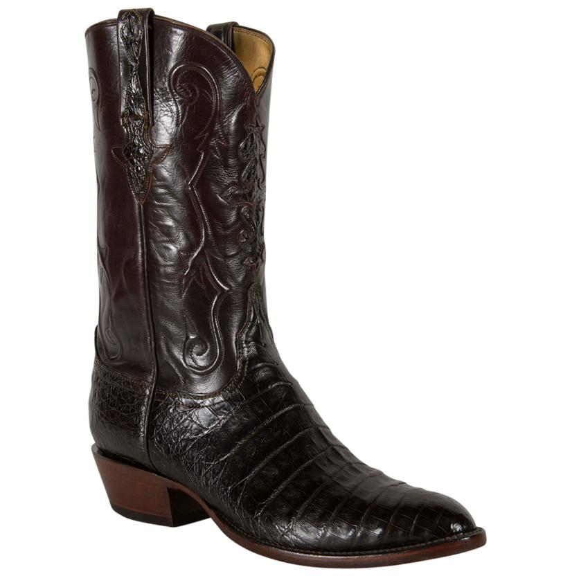Lucchese Classics Men's Brown Ultra Caiman Belly Cowboy Boots