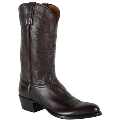 Lucchese Men's Carson Black Cherry Lonestar Calf Boot