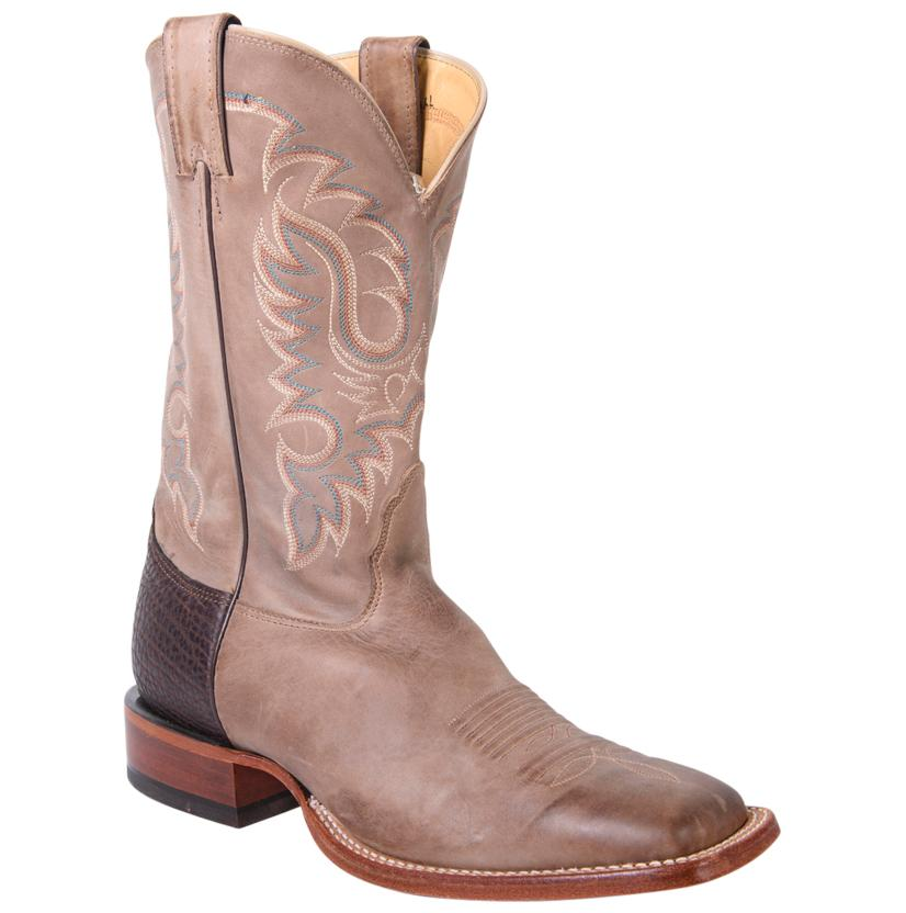 Nocona Men's Legacy Tan Vintage Cow Square Toe Boots
