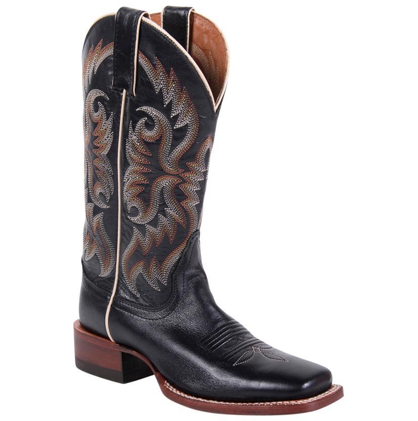 Nocona Women's Black Brasalis Calf Boots