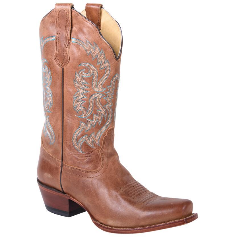 Nocona Women's Old West Tan Boots