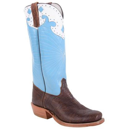 Olathe Honolulu Blue Coffee Bison Men's Boot