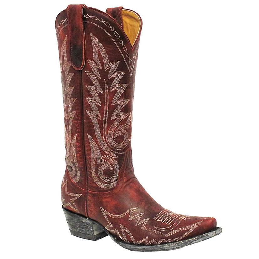 Old Gringo Women's Vesuvio Red Nevada Boots