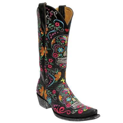 Old Gringo Women's Klak Sugar Skull Boots