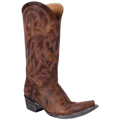 Old Gringo Women's Vesuvio Brass Lauren Boots
