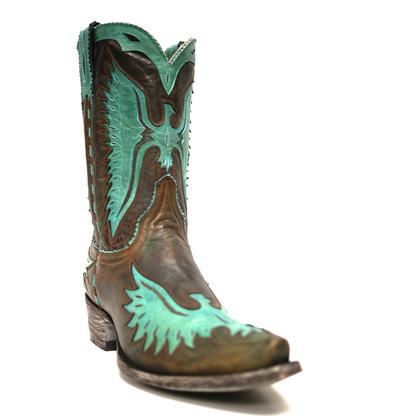 Old Gringo Women's Turquoise Winged Eagle Cowgirl Boots