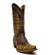 Old Gringo Women's Green & Brass Monarca Butterfly Cowgirl Boots