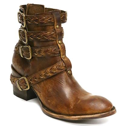 Old Gringo Amsterdam Brass Boots