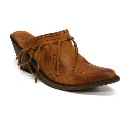 Old Gringo Women's Mabel Tan Fringe Clog Shoes